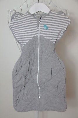"""Size S """"Swaddle Up"""" Warm Zip Up Swaddle. Great Condition! Bargain Price!"""