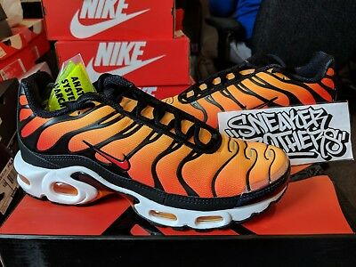more photos 3b3a3 8eaa9 NIKE AIR MAX Plus TN OG Sunset Black Pimento Ceramic Resin Orange BQ4629-001