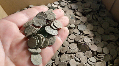 50 Quality Uncleaned Roman coins - 100% authentic