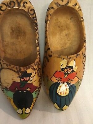 Wooden Clogs, Decorative,made in Holland