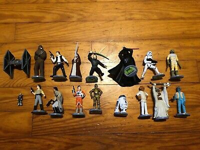 Star Wars Vintage Applause 1995 Action Figures Lot Vader Luke Han Chewbacca Plus