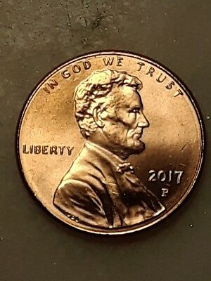2017 P Lincoln Cent Uncirculated #34