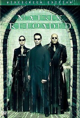 The Matrix Reloaded (DVD, 2003, 2-Disc Set, Widescreen, DISC ONLY)