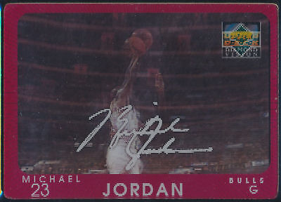 Michael Jordan 1997-98 Ud Diamond Diamond Vision Signature Moves Card #s4 Bulls