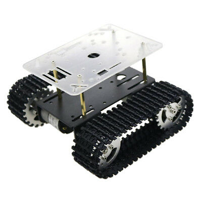 T101 Tracked Robot Smart Car Chassis for Arduino Raspberry Pi DIY