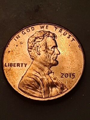 2015 P Lincoln Cent Uncirculated # 34