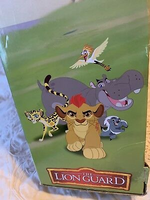 [NewInBox] Disney Lion🦁 Guard 3ft Training Lair Playset W/Lights & Sounds Toy