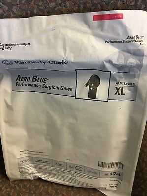 Kimberly-Clark 41734 Aero Blue Performance Surgical Gown XL - 1 pc