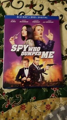 The Spy Who Dumped Me (Blu-ray/DVD, 2018, 2-Disc Set *no digital*