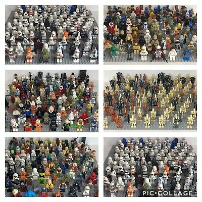 5 LEGO Star Wars Minifigures RANDOM FIGURES Used/New READ DESCRIPTION NOT ALL