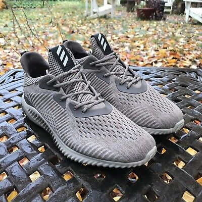 1d7af383a MSRP  100 Adidas AlphaBOUNCE Mesh Tech Tan Earth Oxford Tan Size 13 Alpha  Bounce