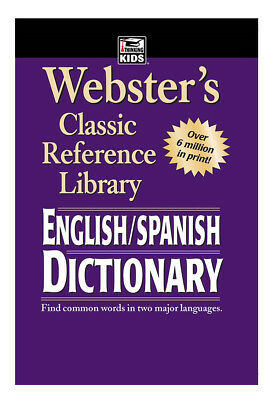 Webster's Classic Reference Library : ENGLISH/SPANISH DICTIONARY by...