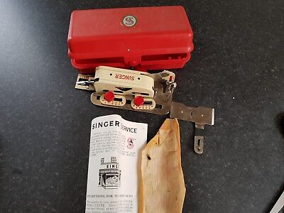 Vintage Singer Buttonhole Attachment For A Sewing Machine Boxed