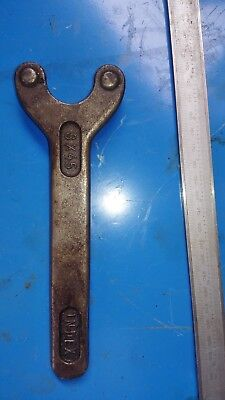 INDEX machine 2 pins key wrench 8x45 Width between 2 pins: 45mm; OD of pin; 8mm