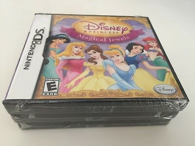 Disney Princess: Magical Jewels (Nintendo DS, 2007) NEW