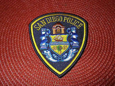 San Diego Police Department Shoulder Patch