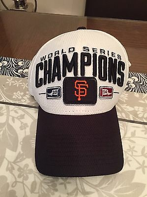 Authentic San Francisco Giants World Series Champions Baseball Cap Hat New Era