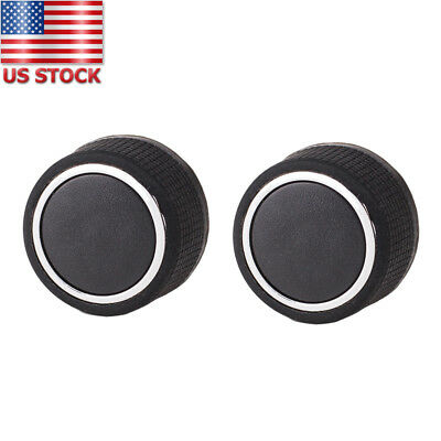 2pcs Rear Audio Radio Volume Control Knobs for 07-13 Chevrolet GMC OEM# 22912547