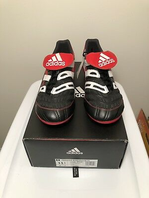 8543fbcc8b0a Adidas Predator Accelerator FG Remake Limited Edition Black/Red/White US Sz  11.5