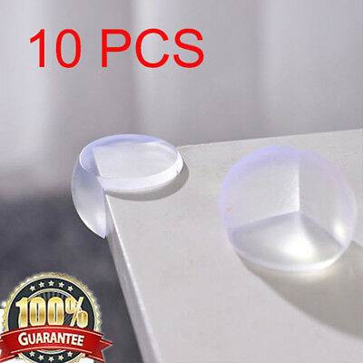 10 X Child Baby Safe Good Guard Protector Table Corner Edge Protection Cover UK@