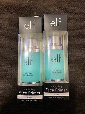 2x - E L F  Cosmetics  Hydrating Face Primer  Clear  1 01 fl oz  30 ml