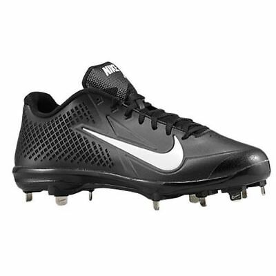 Mens  120 NIKE Air Zoom Vapor Elite BB Metal Baseball Cleats BLACK WHITE sz  13.5 955fe3af0