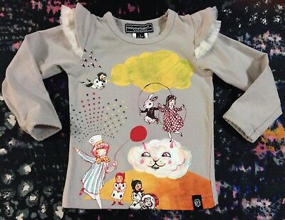 Rock Your Baby Long Sleeve Top Girls 6-12 Months 0