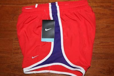 Nike Dri-Fit Tempo Womens Running Shorts Light Crimson 624278 696 Size Xs Nwt