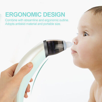 Electric Infant Baby Nose Cleaner Nasal Suction Runny Aspirator Mucus Clean