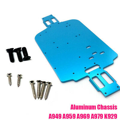 Upgrade Metal Chassis for Wltoys 1/18 A949 A959 A969 A969-B A979-B K929-B N8T4V