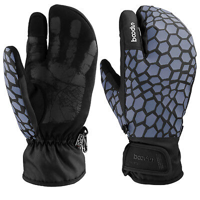 Ski Snowboard Gloves Warm Comfort Thermal Winter Touch Screen Mittens  Men Women