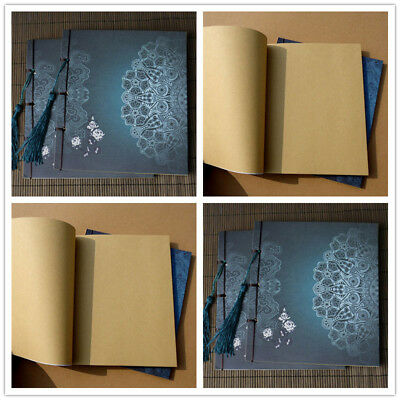 Tassel Stationery Diary Retro Sketchbook Journal Sketch Blank Notebook Notepad
