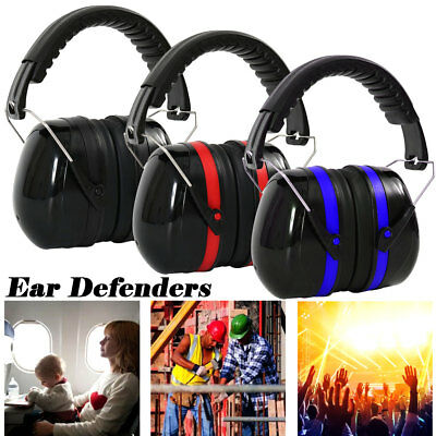 35dB Ear Protectors Safety Ear Muffs Defenders Double Layers Noise Dampen Adult