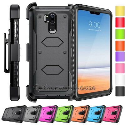 For LG G7 ThinQ Case Hybrid Shockproof Dual Layer Rugged Armor Hard Phone Cover