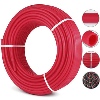"""3/4"""" x 500ft PEX Tubing/Pipe O2 Oxygen Barrier EVOH Water Tube Red Coil PRO"""