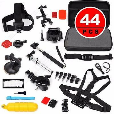 16M 2K Gitup Git2 Sports Action Camera + 44 in1 Monopod Pole Floating Head Chest