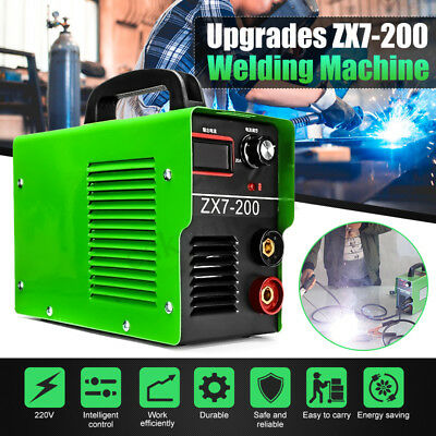 200AMP Welding Inverter Machine ZX7-200 220V ARC Portable Welder MINI IGBT 4000W