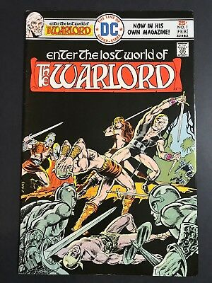 Warlord #1 DC 1976 Bronze Age 2nd Appearance & Mike Grell Art FN/VF