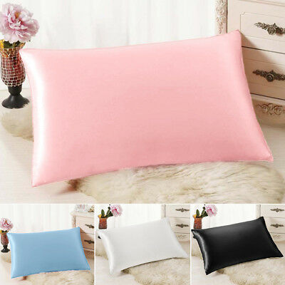 100% Mulberry Pure Silk Pillow Cases / Covers - QUEEN STANDARD Hair Beauty