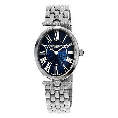 Frederique Constant Women's Art Deco Swiss Quartz Analog Watch FC-200MPN2V6B