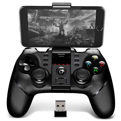iPega PG-9076 Bluetooth Gamepad Game Controller with Bracket 2.4G Receiver NEW
