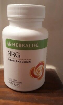 Herbalife NRG x 1 bottle 60 Tablets New & Sealed AUSTRALIAN PRODUCT EXP: 10/2019