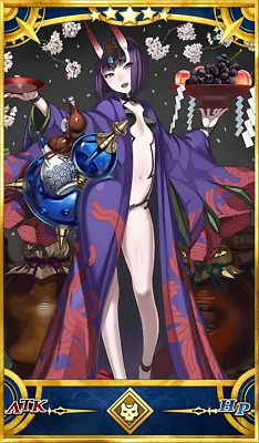 [NA] FGO / Fate Grand Order Fresh Starter Account - Single SSR Shuten Douji