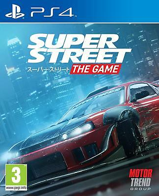 Super Street The Game PS4 | BRAND NEW & SEALED