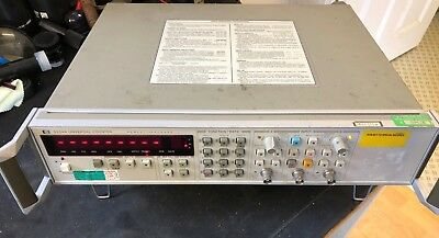 Hp 5334A Universal Counter, 100 Mhz Opt 060 (3)