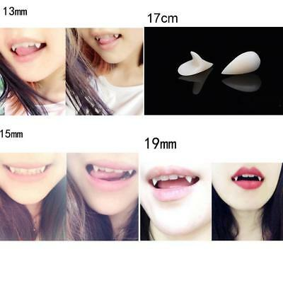 Halloween False Tooth Cosplay Dentures Zombie Vampire Ghost Devil Fangs Teeth