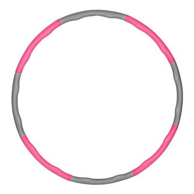 Hula Hoop Fitness Weighted Gym Workout/Exercise Ring Hoola Massager Foam Padded