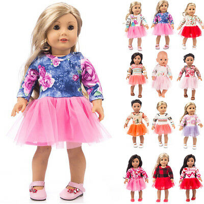 US Doll Clothes Dress Outfits Pajames For 18 inch Cute Girls Generation