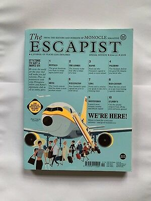 The Escapist • Issue 04 • 2016 • By Monocle Magazine Special Edition