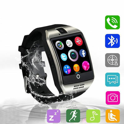 Q18 Touch Screen Smart Watch Wrist Bluetooth SIM Card Camera For Android New